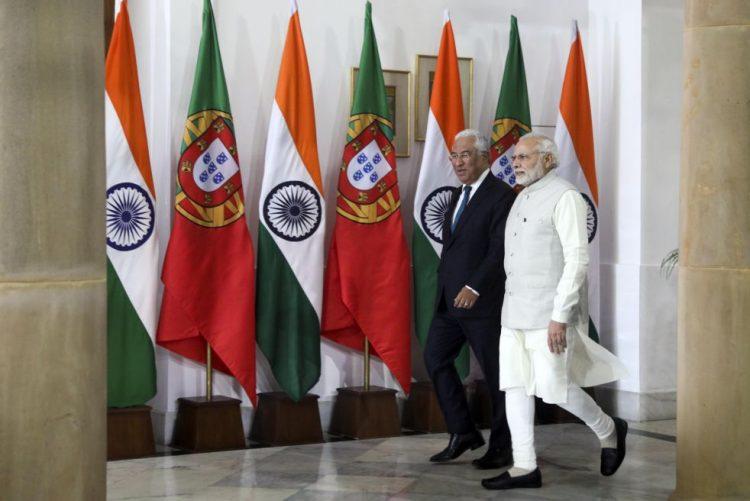 Óbito/Soares: Índia apresenta a Costa condolências e faz domingo minuto de silêncio