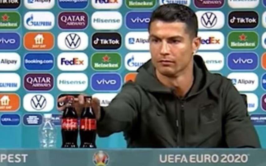 Cristiano Ronaldo responsável por Coca-Cola perder milhões na bolsa? Não é bem assim...