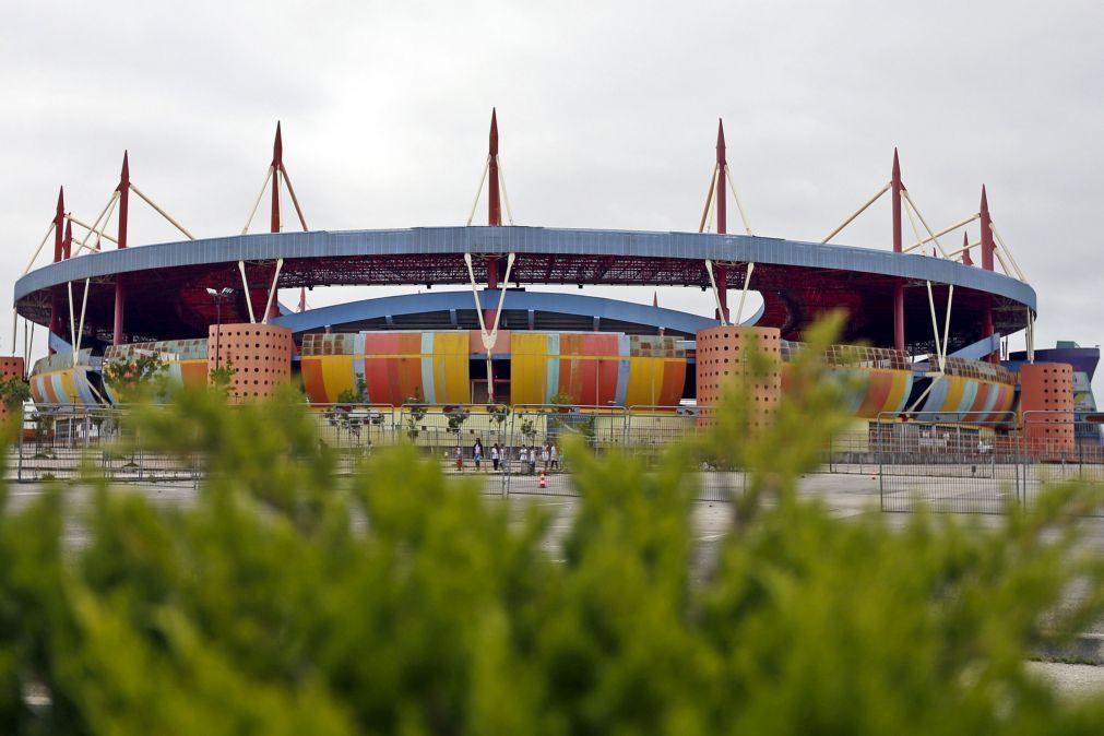 Supertaça entre Sporting e Sporting de Braga em Aveiro, em 31 de julho