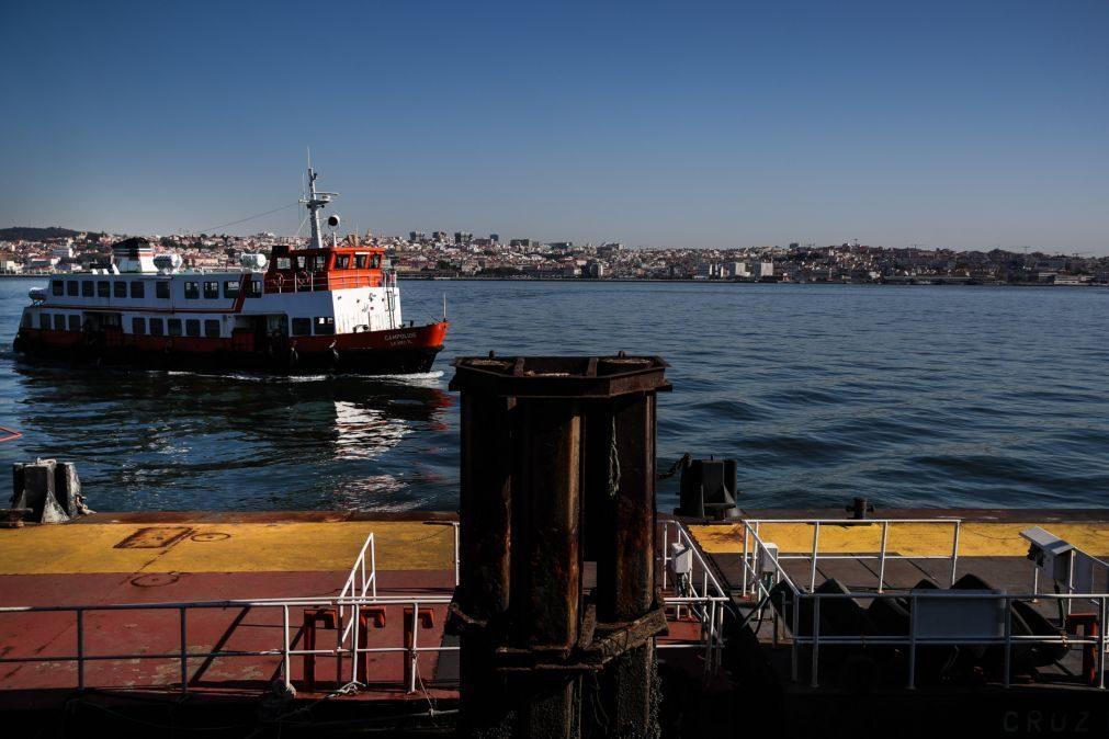 Greve na Transtejo/Soflusa rondou 65%, segundo a empresa