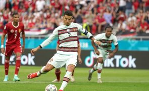 Euro2020: Estreia de Portugal foi a partida mais vista da competição até agora