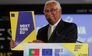 UE/Presidência: PRR português está desenhado para corrida de fundo e não de 100 metros -- Costa