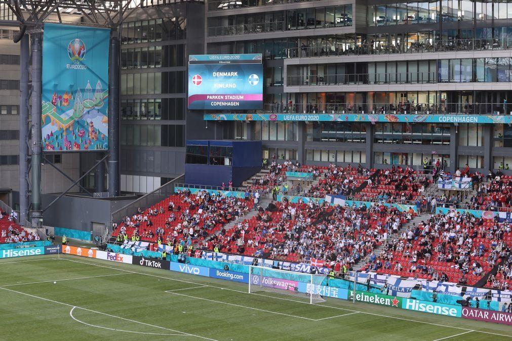 Euro2020: Federação dinamarquesa diz que comportamento da UEFA foi