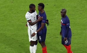 Euro2020: UEFA rejeita abertura de processo disciplinar a Rüdiger