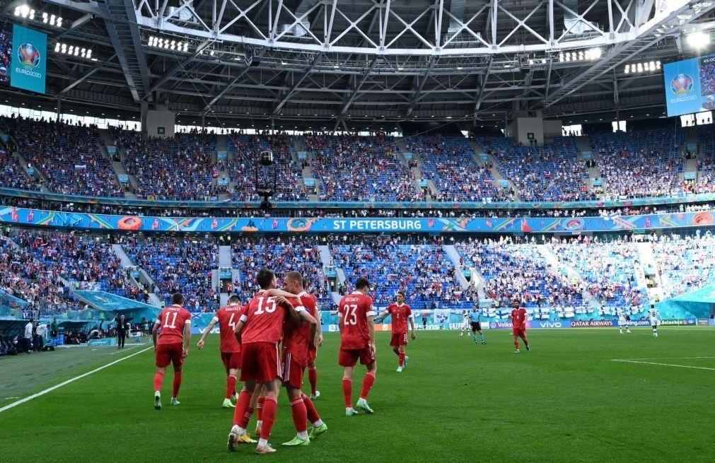 Euro2020: Rússia vence Finlândia e está na corrida aos 'oitavos'