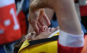 Euro2020: Defesa russo Mário Fernandes sem lesão na coluna vertebral