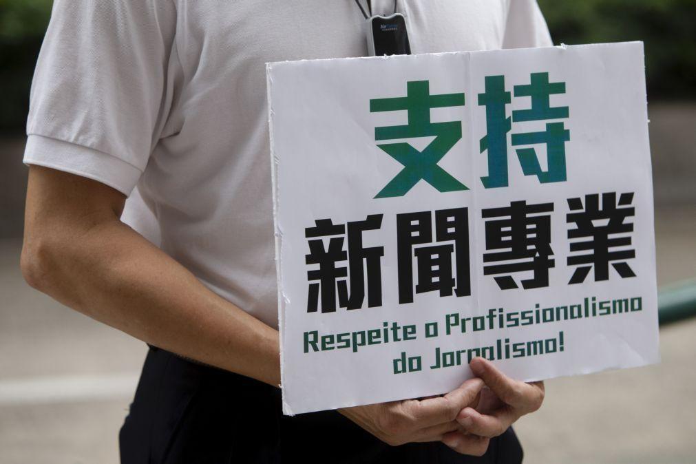 Jornalistas portugueses de Macau preocupados com eliminação de comentários sobre Tiananmen