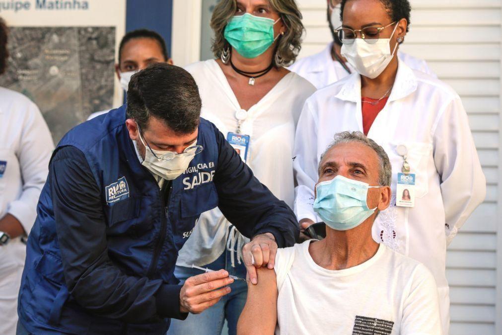 Covid-19: Brasil volta a aproximar-se de três mil mortes e de 100 mil casos em 24 horas