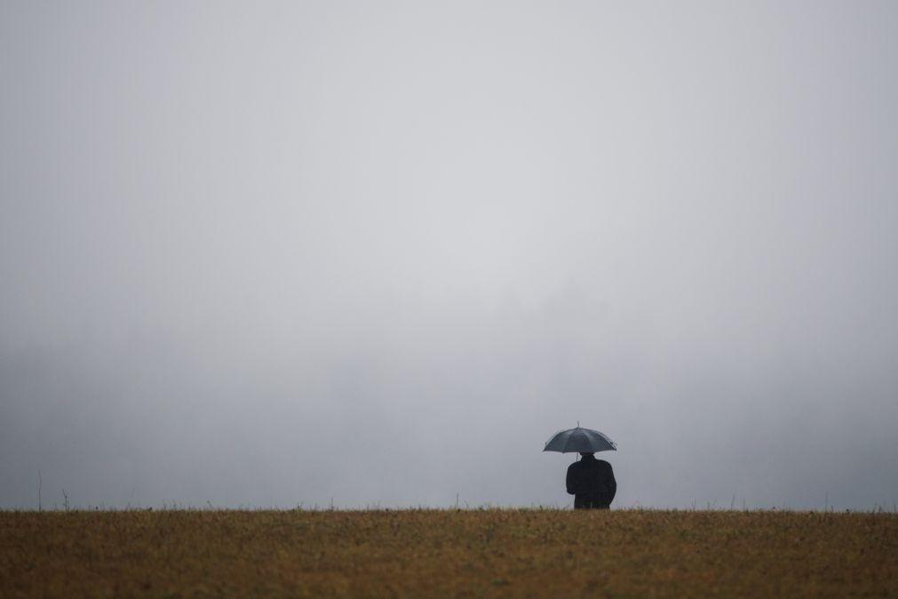 Alerta. Cinco distritos sob aviso amarelo devido à chuva