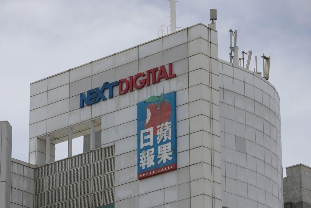 Jornal Apple Daily diz que liberdade de imprensa em Hong Kong
