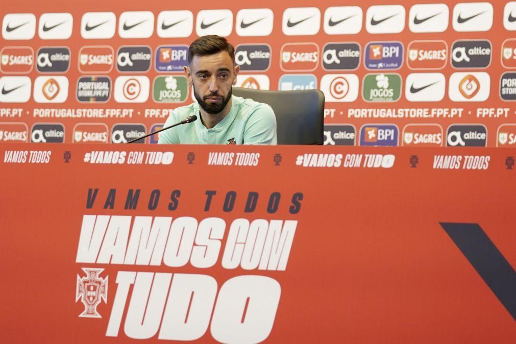 Euro2020: Bruno Fernandes destaca