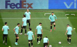 Euro2020: Portugal com resultados negativos à covid-19 antes do jogo com a Alemanha