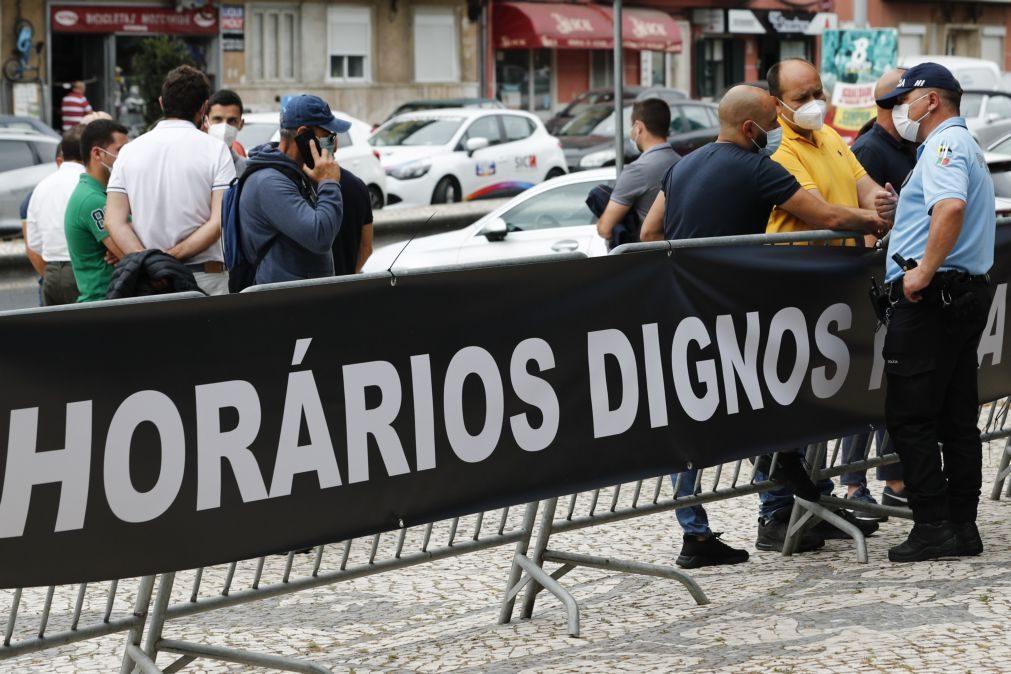 Polícias de Lisboa querem alteração de horários de agentes que fazem serviço apeado