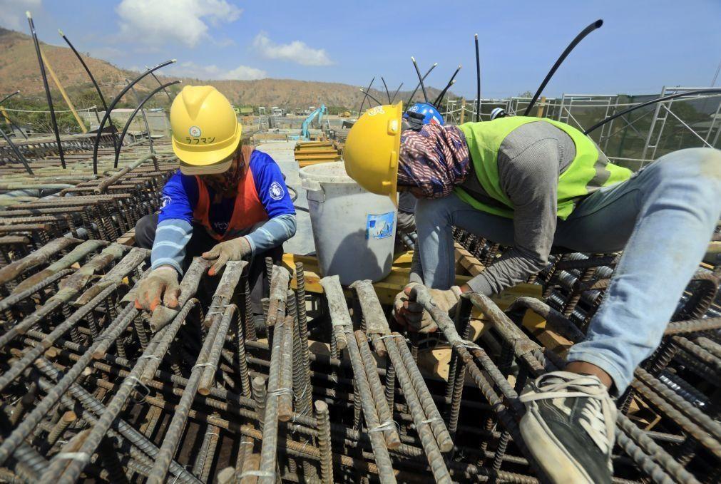 Consumo de cimento em Portugal sobe 11,5% até abril para 1,25 milhões de toneladas