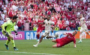 Euro2020: Bélgica bate Dinamarca e junta-se à Itália nos 'oitavos'