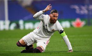 Zidane considera Sergio Ramos uma lenda do Real Madrid e um grande capitão