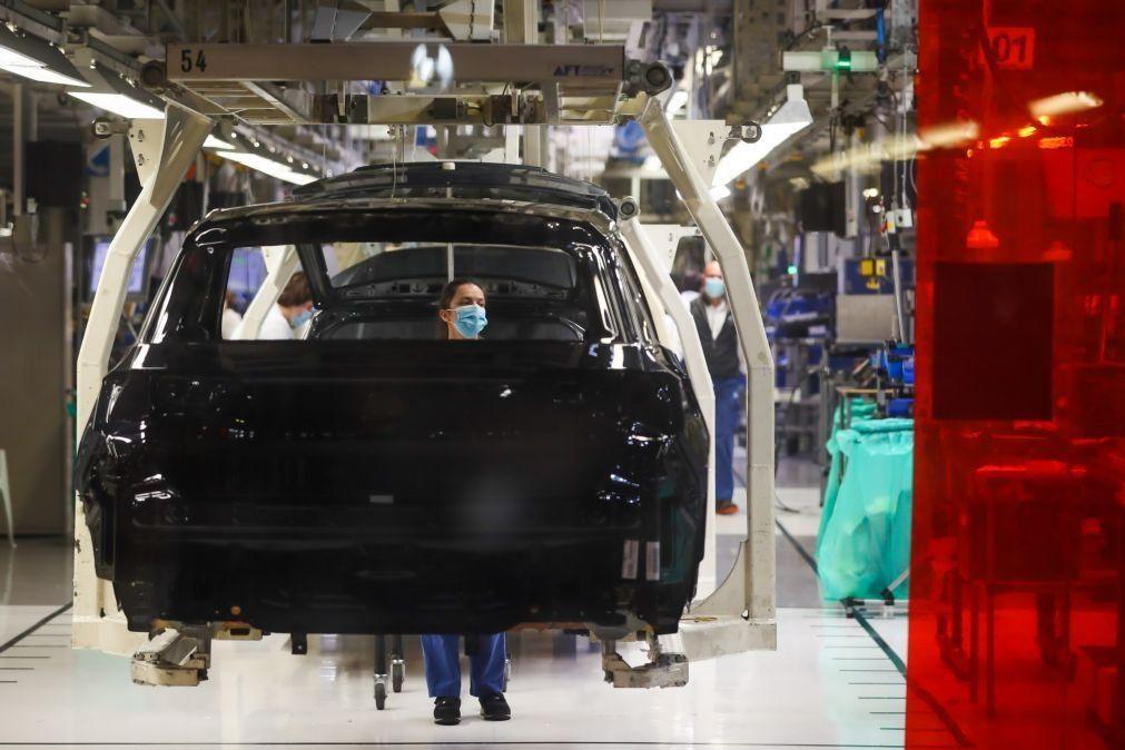 Autoeuropa inicia hoje mais uma paragem de produção devido à falta de semicondutores