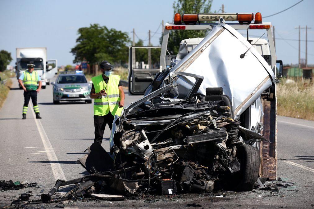 Acidentes rodoviários e feridos graves aumentaram em março, quebrando ciclo de descidas
