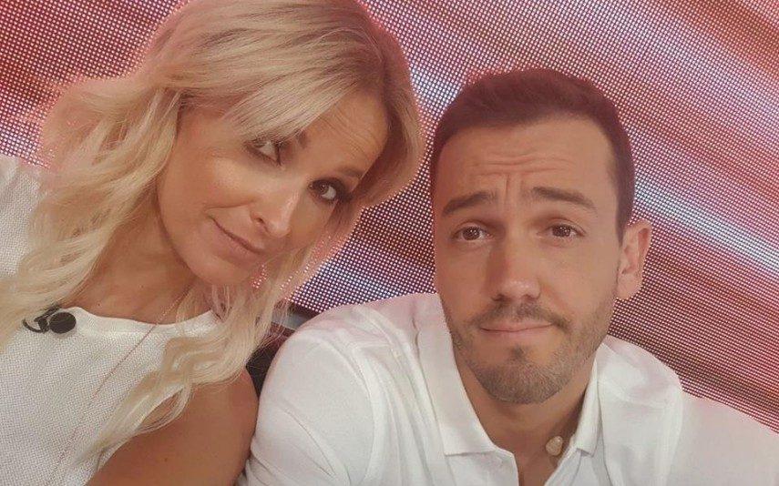 Cristina Ferreira apanha Pedro Teixeira com outra mulher e filma tudo