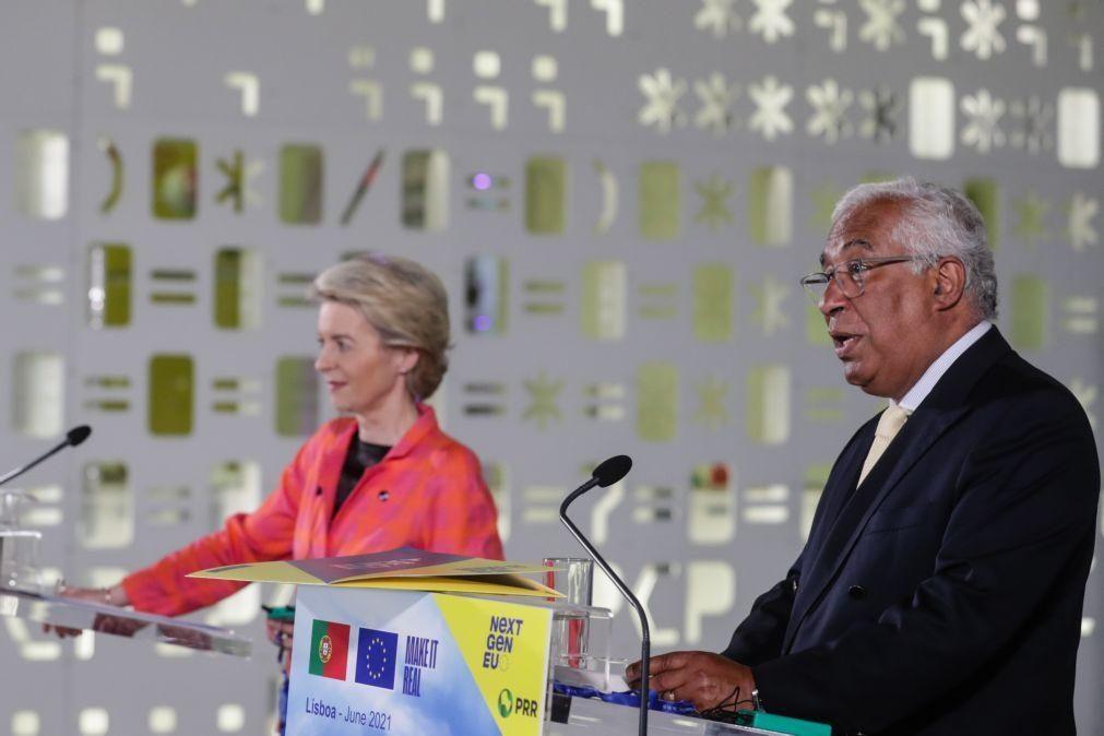 UE/Presidência: Parecer de Bruxelas ao PRR de tal forma positivo que Portugal pode já avançar -- PM