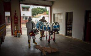 Covid-19: Novos casos em África em 24 horas quase o dobro dos recuperados da doença