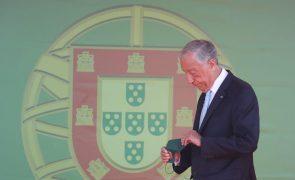 Marcelo pede que portugueses tenham