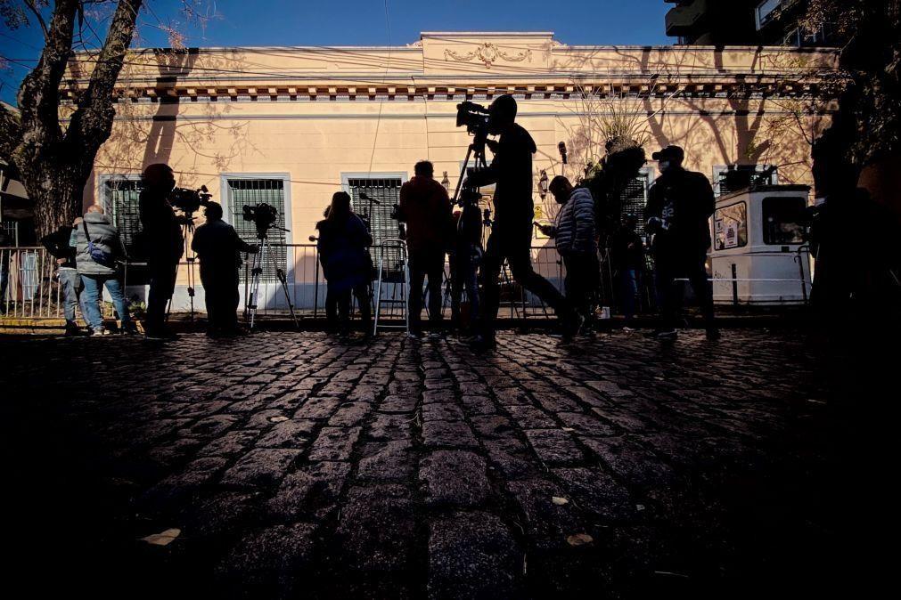 Enfermeiros descartam responsabilidades na morte de Maradona