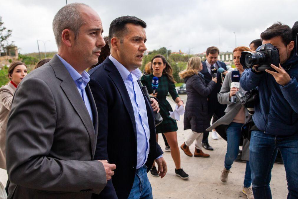 António Joaquim entrega-se na prisão pela morte de Luís Grilo