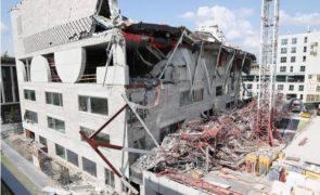 Três portugueses morrem em desabamento de edifício em obras na Bélgica