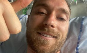 Christian Eriksen Jogador dinamarquês tem alta hospitalar após operação