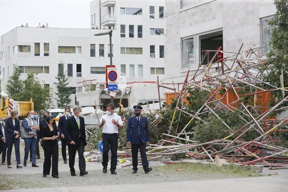 Terceira vítima mortal confirmada no acidente de construção em Antuérpia