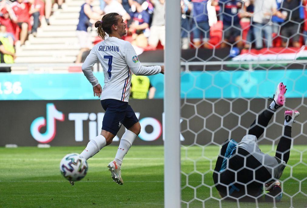 Euro2020: Griezmann no pódio dos marcadores da história dos Europeus