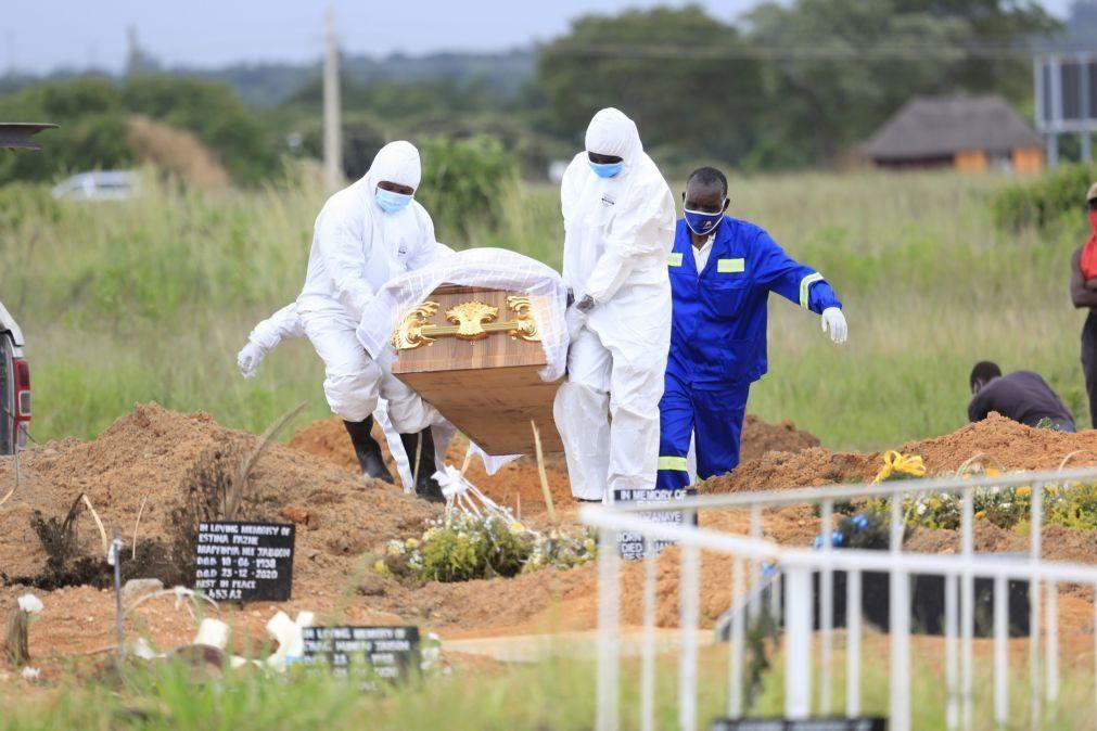 Covid-19: Mais 364 mortes em África nas últimas 24 horas