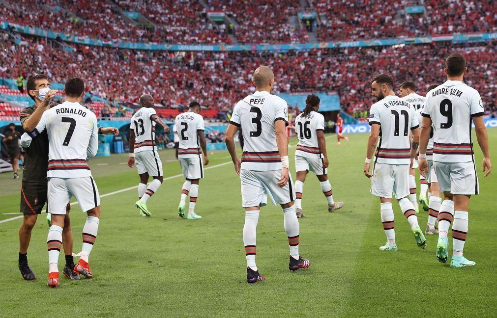 Euro2020: Fernando Santos repete o 'onze' frente à Alemanha