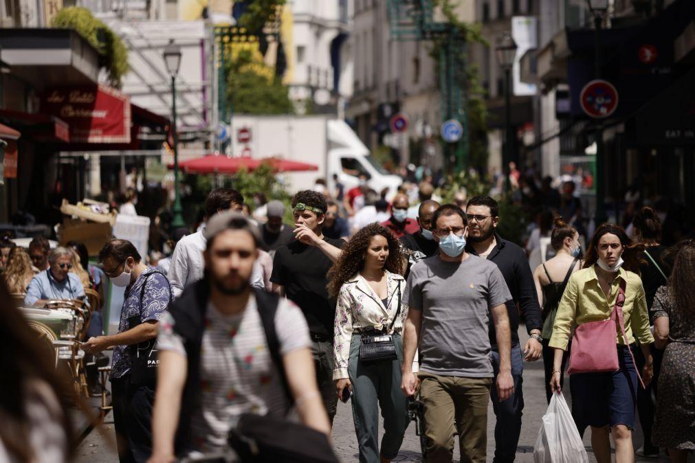 Covid-19: França regista hoje mais 2.624 infeções e mais 22 mortes