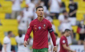 Ronaldo iguala recordista Klose com 19 golos em Europeus e Mundiais