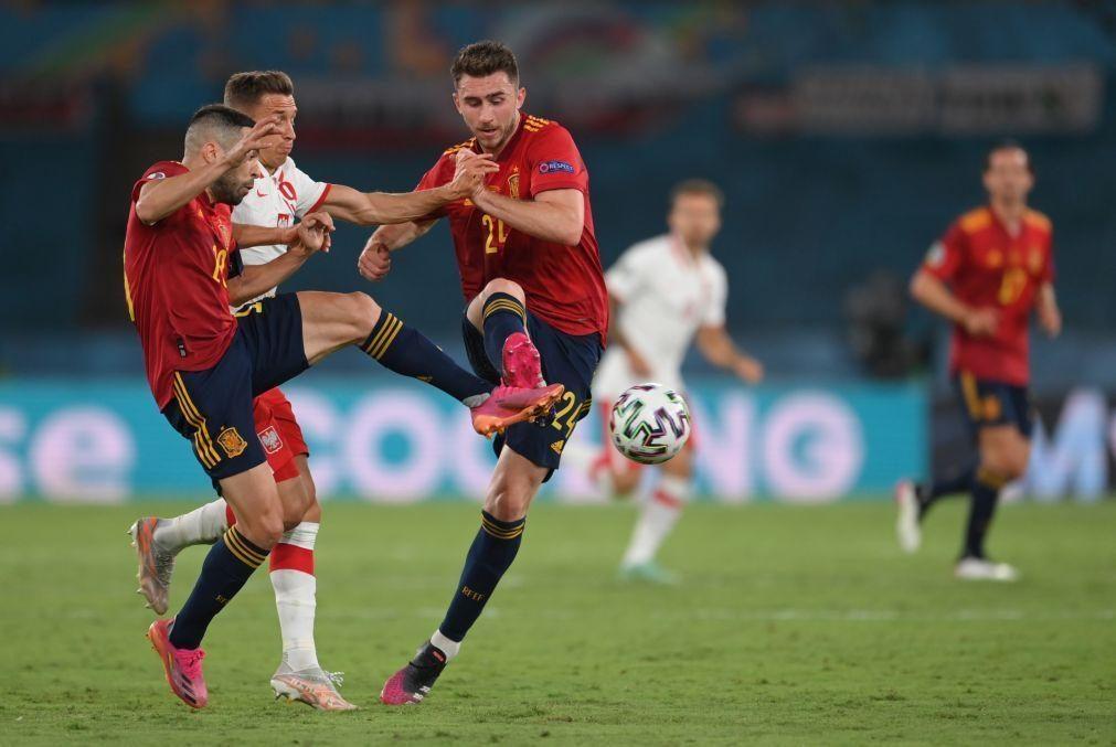 Euro2020: Polónia de Paulo Sousa empata a um golo com a Espanha