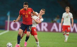 Euro2020: Polaco Kacper Kozlowski é o mais novo de sempre a jogar a competição