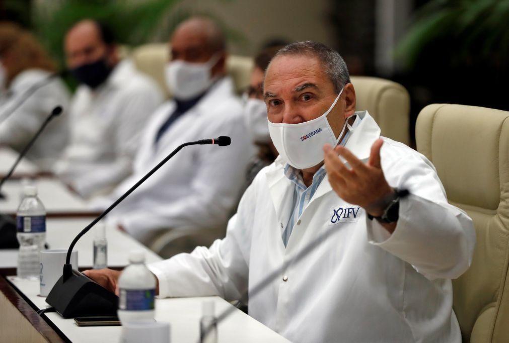 Covid-19: Vacina cubana com eficácia de 62% após segunda dose das três previstas