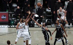 Bucks vencem Nets e apuram-se para a final da Conferência Este da NBA