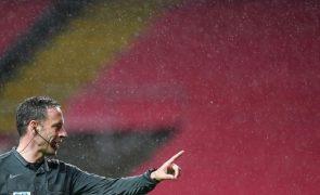 Euro2020: Soares Dias arbitra o jogo República Checa-Inglaterra