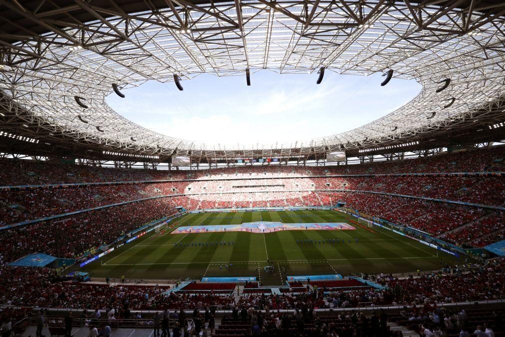 Euro2020: UEFA investiga incidentes discriminatórios no Hungria-Portugal