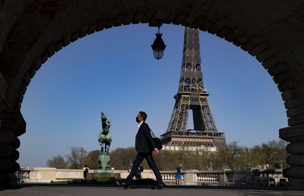 Covid-19: França regista hoje mais 14 mortes e mais 1.815 infeções