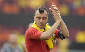 Euro2020: Goran Pandev anuncia adeus à seleção após torneio