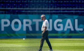 Euro2020: Selecionador sem dúvidas de que Portugal estará nos 'oitavos' e admite mudanças