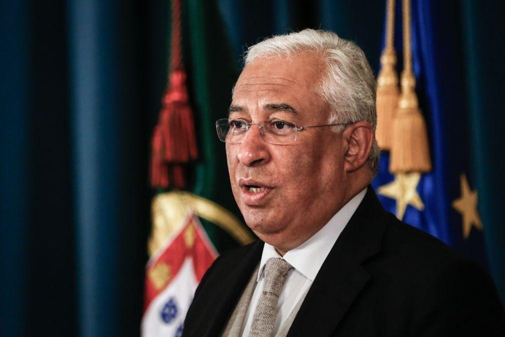 Costa contra autoflagelação e diz que Portugal tem bom historial nos fundos europeus