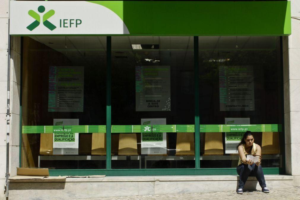 Número de desempregados inscritos nos centros de emprego recua em maio