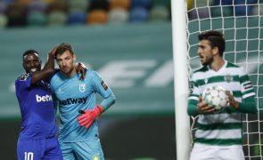 Guarda-redes Kritciuk reforça Gil Vicente com contrato até 2024
