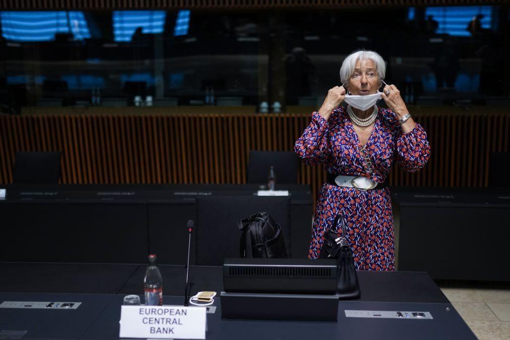 Covid-19: Lagarde fala em