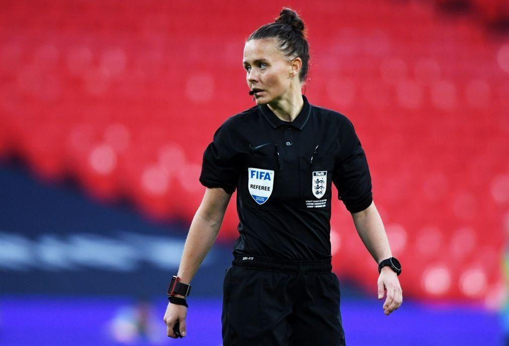 Rebecca Welch é a primeira mulher de sempre na lista de árbitros inglesa